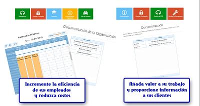 portal de empleados y clientes